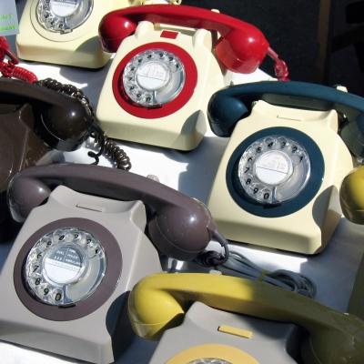 oude Britse telefoons